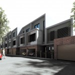 Fenix Townhouses in Yarraville ... off the plan
