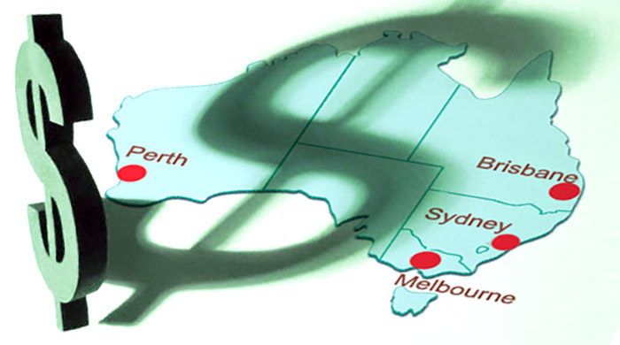 Capital Growth cities in Australia